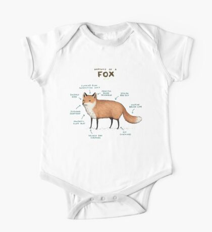 Anatomy of a Fox One Piece - Short Sleeve