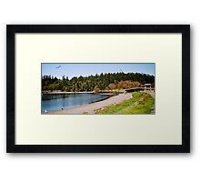Esquimalt Lagoon, Canada Framed Print