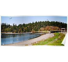 Esquimalt Lagoon, Canada Poster