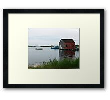 Quiet Day in Prospect Framed Print