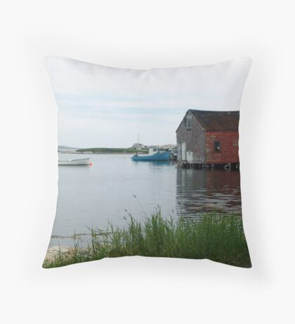 Quiet Day in Prospect Throw Pillow