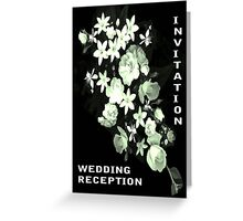 Flowers for a Bride Greeting Card