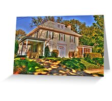 House in Queens2-NY Greeting Card