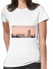 Pink Elephants Womens Fitted T-Shirt