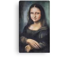 Monalisa: ten years younger :)) Canvas Print
