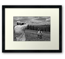 Smile, Say Cheese Framed Print