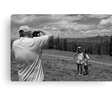 Smile, Say Cheese Canvas Print