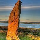 Standing Stone (Orkney Isles) by Panalot
