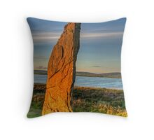 Standing Stone (Orkney Isles) Throw Pillow
