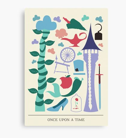 Fairytale- Once Upon a Time Canvas Print