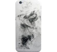 Quand mon Petit Pull Noir... #1 - Monotype Empreinte iPhone Case/Skin