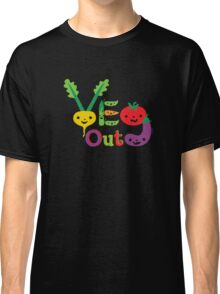 Veg Out Deux - on darks Classic T-Shirt