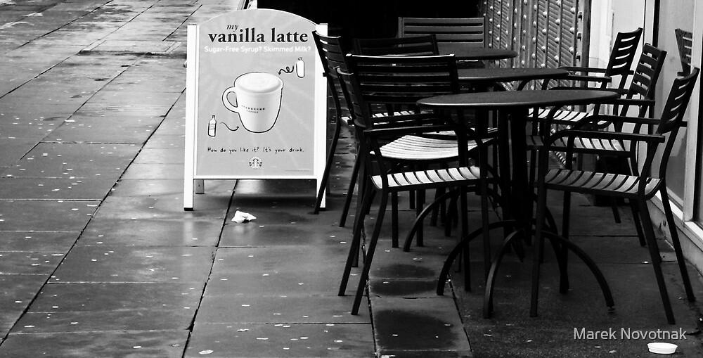 Café del Oxford Road by Marek Novotnak