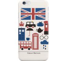 I heart Great Britain iPhone Case/Skin
