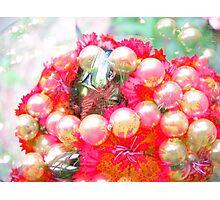 Pearls and Flowers. Photographic Print