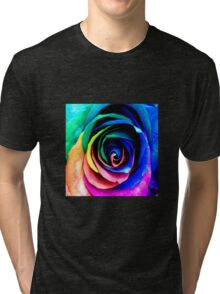 rainbow beauty  Tri-blend T-Shirt