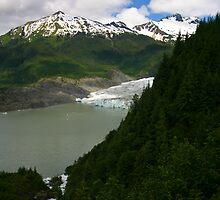 Mendenhall Glacier by Aaron Stramiello