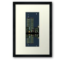 My reflective nature... Framed Print