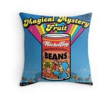 Magical Mystery Fruit Throw Pillow