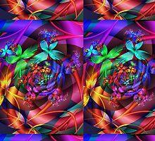 Flower Sky by vortexvisuals