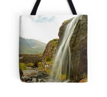 Waterfall at the Conor Pass Tote Bag