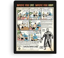 Squat & Flex Like a Man - Workout Video Canvas Print