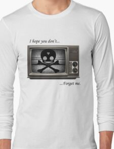 Nothing Good on Television Long Sleeve T-Shirt