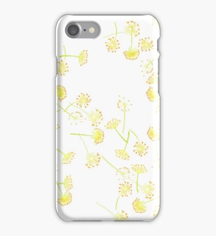 Real Bright Dandelion Fluff iPhone Case/Skin