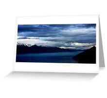 Night across the Lake Greeting Card