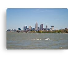 Cleveland, Ohio in the spring Canvas Print