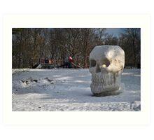 The Morning Skull  Art Print