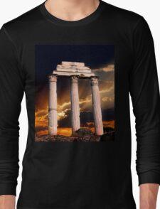Roman Ruin Long Sleeve T-Shirt