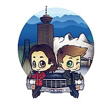 Winchesters in Vancouver Photographic Print
