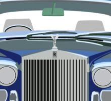 Rolls Royce Silver Shadow logo (White) Sticker