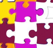 life's a puzzle Sticker