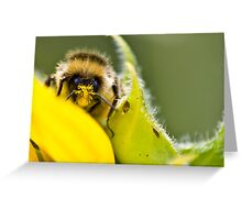 Pollen on the Mind Greeting Card