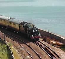 GWR 5029 'Nunney Castle' at Teignmouth by Rorymacve