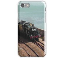 GWR 5029 'Nunney Castle' at Teignmouth iPhone Case/Skin