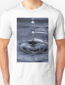 Water Bubble on Blue  T-Shirt