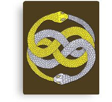The Neverending Story - Auryn Symbol Canvas Print