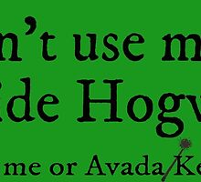 I can't use magic outside Hogwarts - Slytherin by TimonPower77