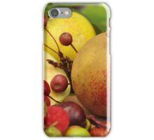 autumn fruits iPhone Case/Skin