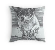 Diving Boo Throw Pillow