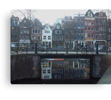 Dutch Bicycles Canvas Print
