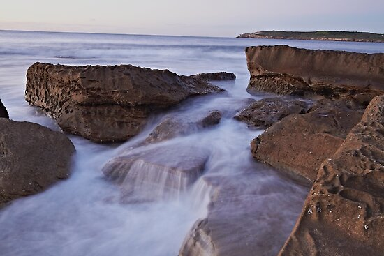Silky Rock by Mark  Lucey