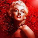 Marilyn Monroe roses by Cliff Vestergaard