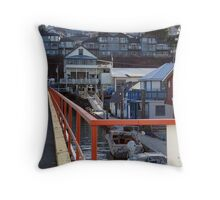 Cowichan Bay (3) Throw Pillow