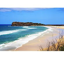 Looking back across Fraser Island Photographic Print