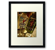 You and the Capn'... Framed Print
