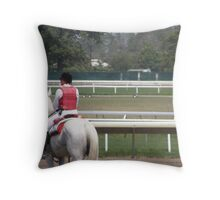 Monmouth Park Racetrack 2010 Throw Pillow